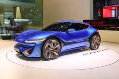concept 2015 de coupé de nanoFlowcell Photo stock