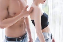 Concept de couples d'amour de tendresse Photo libre de droits
