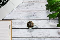 Concept de coupure de coffe de siège social Image stock