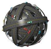 Concept de course et de transport illustration de vecteur