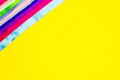 Concept de couture Bandes colorées Image libre de droits