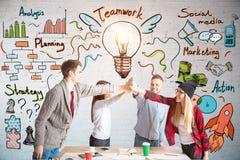 Concept de Coworking Photo stock