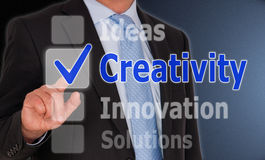 Concept de créativité photos stock