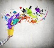 Concept de créativité Images stock