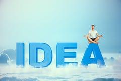 Concept de créativité et de relaxation image stock