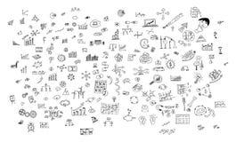 Concept de créativité sur le fond blanc illustration de vecteur