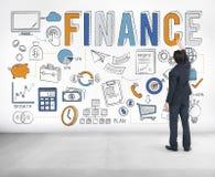 Concept de crédit d'argent de l'épargne de sciences économiques de finances Images stock