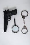 Concept de criminalité Images stock