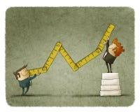 Concept de croissance économique illustration libre de droits