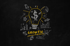 Concept de croissance pour des affaires Photos stock
