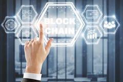 Concept de Cryptocurrency, de cryptographie et de bitcoin photo libre de droits