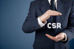 Concept de CSR Photos stock