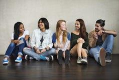 Concept de culture de la jeunesse d'activité d'unité d'amitié de personnes Photographie stock