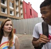 Concept de culture de la jeunesse de repaire d'unité d'amitié de personnes Image stock