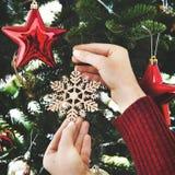 Concept de décorations de célébration de nouvelle année de Noël Photos stock