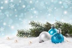 Concept de décorations de Noël image stock