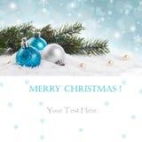 Concept de décorations de Noël images libres de droits