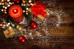 Concept de décorations de Noël images stock