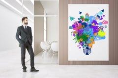 Concept de démarrage créatif Images libres de droits