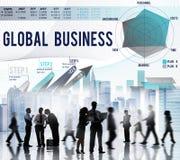 Concept de démarrage global de croissance de stratégie commerciale Photo libre de droits
