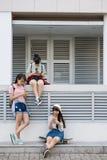 Concept de dépendance de Smartphone photographie stock libre de droits