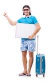 Concept de déplacement de tourisme Photographie stock libre de droits