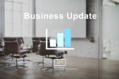 Concept de développement de planification de vision de stratégie de mise à jour d'affaires image stock