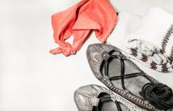 Concept de danse Basque de gens de la campagne Photo stock