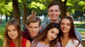 Concept de datation de loisirs de souvenirs d'amitié de Selfie Photographie stock