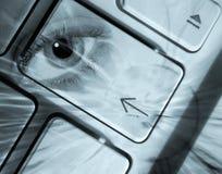 Concept de degré de sécurité d'ordinateur photos libres de droits