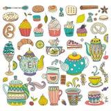 Concept de dessert Images stock