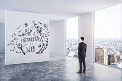 Concept de direction, de succès et d'esprit d'entreprise Photo libre de droits