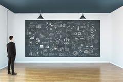 Concept de direction, de succès et de plan Image stock
