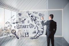 Concept de direction, de succès et de stratégie Image stock