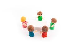 Concept de discussion ou de réunion Photo stock
