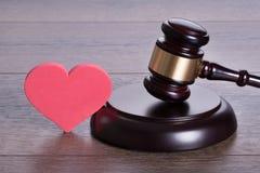 Concept de divorce Photographie stock