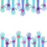 Concept de don du sang Image libre de droits