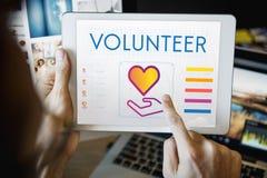 Concept de donation de charité de part de la Communauté Photo stock