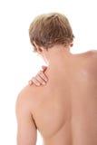 Concept de douleur dorsale Images stock