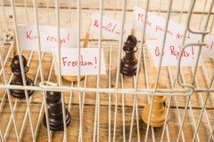 Concept de droits civiques Images libres de droits