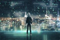 Concept de entailler et de malware photo libre de droits