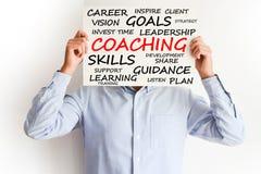 Concept de entraînement personnel ou de carrière Image stock