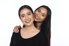 Concept de ethnique ou étroit multi course de meilleurs amis plus jeune Photo stock