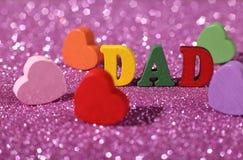 Concept de fête des pères Photo libre de droits