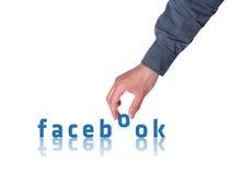 Concept de Facebook photos stock
