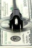 Concept de facture chère d'énergie Images stock