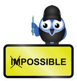 Fabrication du possible impossible Image stock