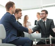 Concept de fiabilité d'association et de coopération Business Images libres de droits