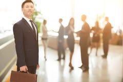 Concept de fiabilité et association dans les affaires mA financier Image stock