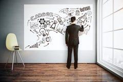 Concept de finances illustration stock